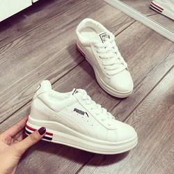 giày bata nữ đế độn