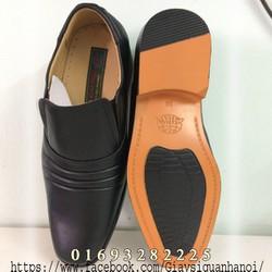 giày lười thời trang  - Giày lười SQQĐ da bò đế vàng ASECO 32FFM 714