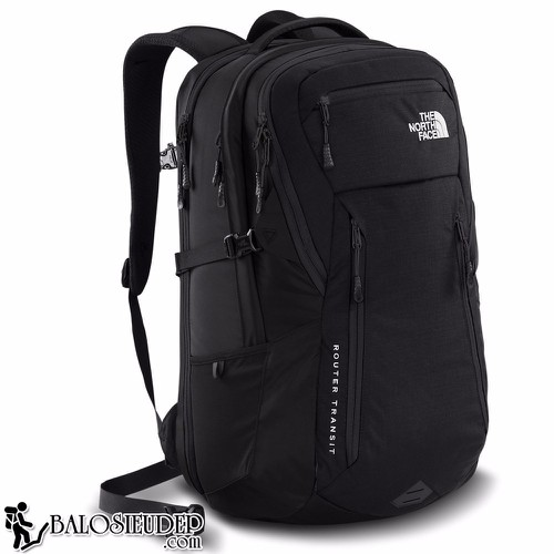 Balo The North Face Router Transit Backpack 2016 Màu Đen