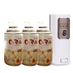 Máy xịt tự động có điều khiển  + 3 bình nước hoa xịt phòng Aroce