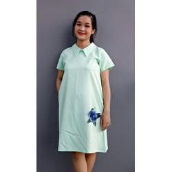 Váy bầu cổ peter pan