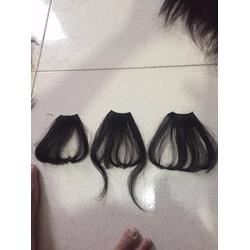 kẹp mái tóc thật