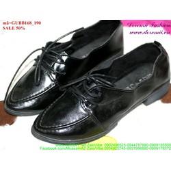 Giảm giá giày oxford da mũi nhọn đơn giản