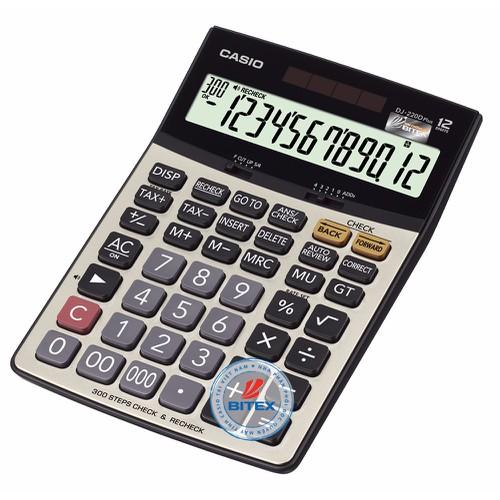 Máy tính Casio DJ-220D Plus để bàn cỡ to dành cho KT chuyên nghiệp - 4943187 , 7215840 , 15_7215840 , 458000 , May-tinh-Casio-DJ-220D-Plus-de-ban-co-to-danh-cho-KT-chuyen-nghiep-15_7215840 , sendo.vn , Máy tính Casio DJ-220D Plus để bàn cỡ to dành cho KT chuyên nghiệp