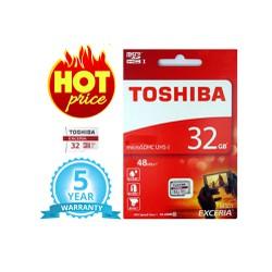 Thẻ nhớ Toshiba 32GB - Micro SDHC Toshiba Exceria 32GB