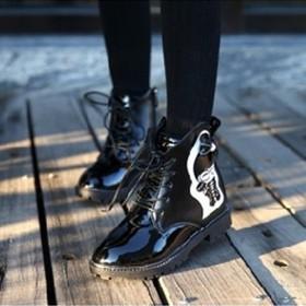 B01DE-Giày bốt bé gái - B01DE