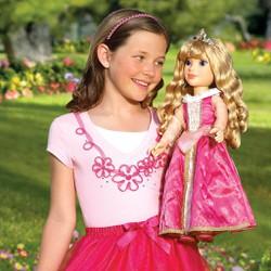 Quần áo búp bê  DISNEY PRINCESS ME 46cm BJD 50 60cm Set đầm công chúa