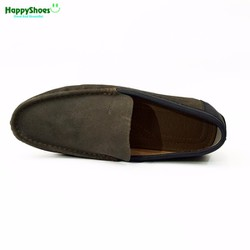 Giày mọi nam Geox da bò, kiểu dáng thời trang công sở