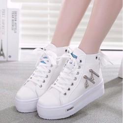Giày thể thao nữ tăng chiều cao Hàn Quốc - TT009T