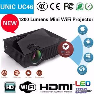 MÁY CHIẾU UNIC UC46 WIFI - LED - MÁY CHIẾU 0462 thumbnail