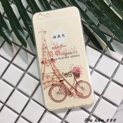 Ốp lưng silicon Iphone 6 6s xe đạp ơi