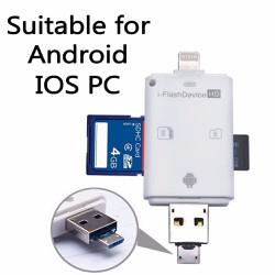 i-Flash Device đọc thẻ nhớ SD và MicroSD iphone iPAD Android