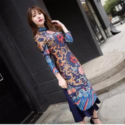 Áo dài phối váy M, L, XL