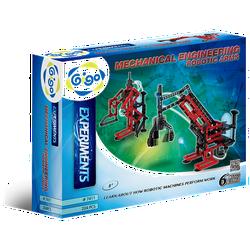 Hộp Gigo toys Robot khí nén 6 chủ đề 204 miếng ghép nhiều màu 7411