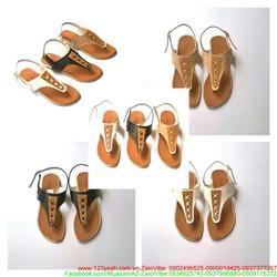 Giày sandal nữ dạng kẹp có quai hậu phong cách sành điệu