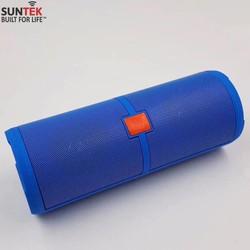 Loa bluetooth SUNTEK S10 kiêm pin sạc dự phòng Xanh+Tặng của sạc USB