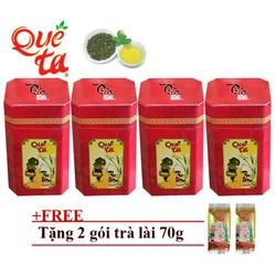 Combo 4 hộp trà ô long cao cấp Quê Ta 0688+ tặng 2 gói trà lài
