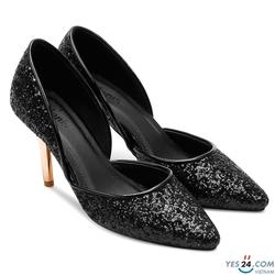 Giày cao gót ánh kim sang trọng