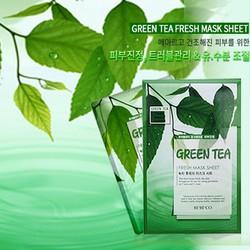 Mặt nạ dưỡng da chiết xuất Trà xanh BEBECO GREEN TEA FRESH MASK