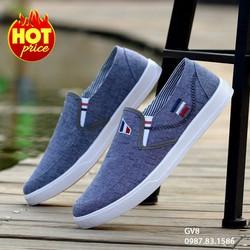 Giày Vải Nam Cao Cấp Phong Cách Hàn Quốc