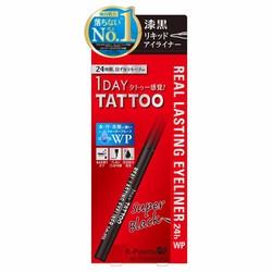 Kẻ Mắt Nước Tattoo Super Black K-Palette 1 Day