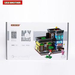 Bộ đồ chơi lắp ghép kiến tạo Tiệm cafe -  Lele Brother - 6706