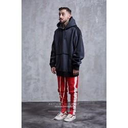 Áo hoodie màu đen