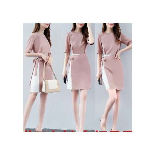 Đầm suông nữ cột eo cao cấp D9875 - 10452562 , 7229013 , 15_7229013 , 360000 , Dam-suong-nu-cot-eo-cao-cap-D9875-15_7229013 , sendo.vn , Đầm suông nữ cột eo cao cấp D9875