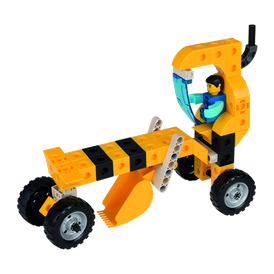Đồ chơi xếp hình - Bé tập làm xây dựng - HEAVY VEHICLES【Gigo Toys】 7