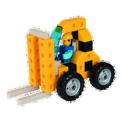 Đồ chơi xếp hình - Bé tập làm xây dựng - HEAVY VEHICLES【Gigo Toys】 13