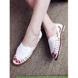 Giày sandal nữ quai đan tự tin năng động