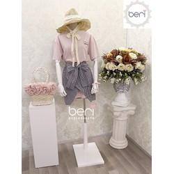 Set đầm cực xinh Hàn Quốc BERI hồng