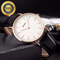 Đồng hồ nam chính hãng Skmei số vạch chống xước, chống nước