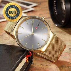 Đồng hồ nam Curren chính hãng dây mành sang trọng