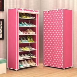 Tủ vải đựng giày 7 tầng 7 ngăn LS109