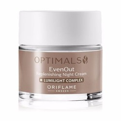 Kem dưỡng đêm Oriflame mờ sạm nám da Optimals 32480