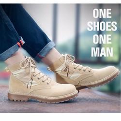 Giày Bốt Nam Đẹp - Chất Lượng Cao Cấp - Phong Cách Cá Tính