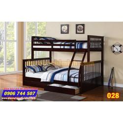 Giường 2 tầng trẻ em giá rẻ 028