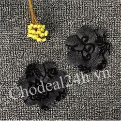 Combo 10 miếng dán ngực vải ren dùng 1 Black