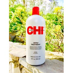 Dầu xả CHI INFRA 946ml dành cho tóc khô và hư tổn