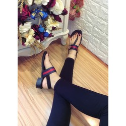 Giày sandal cao gót xỏ ngón, 3cm