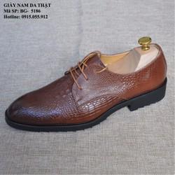 Giày tây da thật -  Vân Cá Sấu