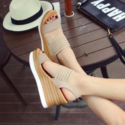 Giày sandal đế xuồng H.Q Cao cấp hàng nhập