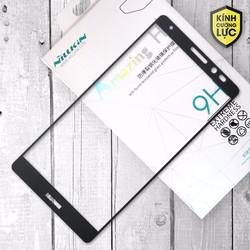 Kính cường lực Huawei Mate 8 Full Nillkin đen