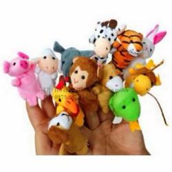 Sỉ rối ngón tay 12 con vật