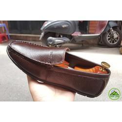 Giày lười da bò màu đẹp lạ miễn phí ship