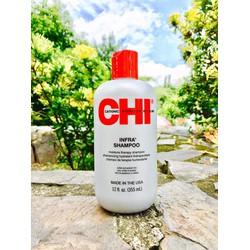 Dầu gội dưỡng tóc dành cho tóc khô và hư tổn CHI INFRA 355ml