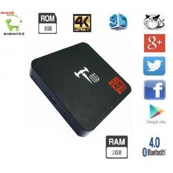 Android TV Box T II Plus Ram 2GB biến TV thường thành TVSMART