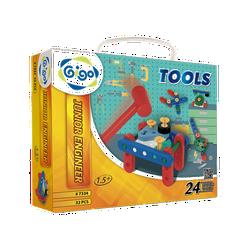 Hộp Gigo Toys Xếp hình mầm non 24 chủ đề 32 chi tiết nhiều màu 7334