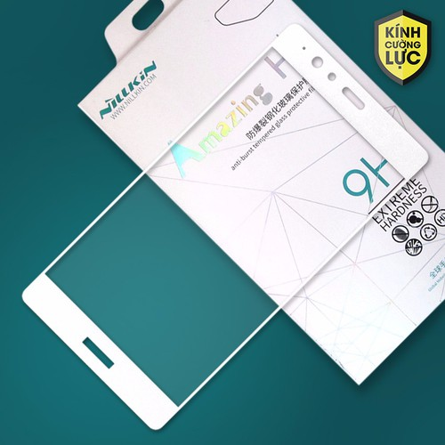 Kính cường lực Huawei P9 Lite Full Nillkin trắng